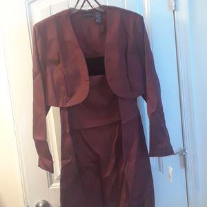 NWT Liz Claiborne Night Dress with Bolero Jacket